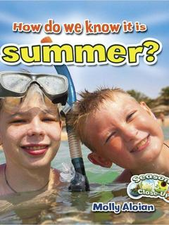 How do we know it is summer?