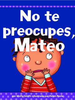 No te preocupes, Mateo