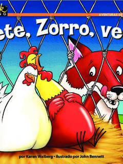¡Vete, Zorro, vete!