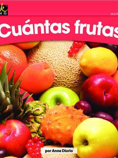 ¿Cuántas frutas?