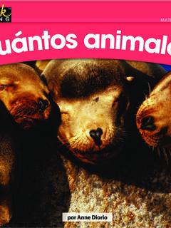¿Cuántos animales?