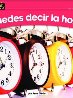 ¿Puedes decir la hora?