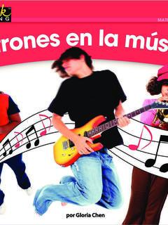 Patrones en la música