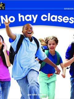 ¡No hay clases!