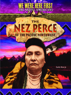 The Nez Perce of the Pacific Northwest
