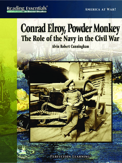 Conrad Elroy, Powder Monkey