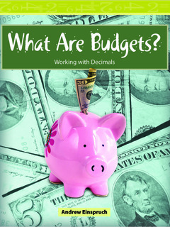 What Are Budgets?