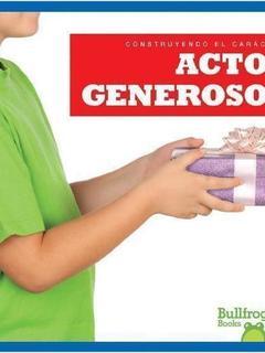 Actos generosos