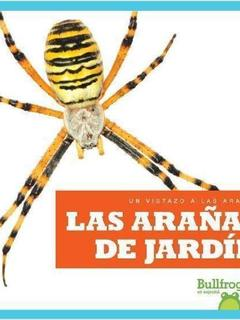 Las arañas de jardín