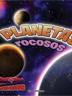 Planetas rososos: Mercurio, Venus, la Tierra, y Marte
