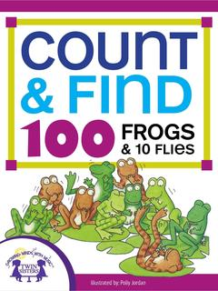 Count & Find 100 Frogs and 10 Flies