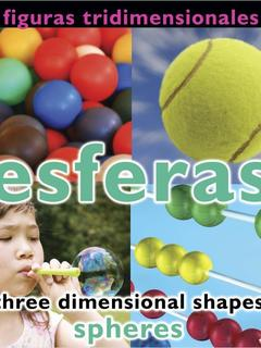 Figuras tridimensionales: esferas/Three Dimensional Shapes: Spheres