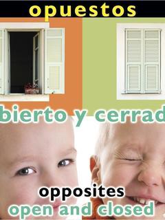 Opuestos: Abierto y cerrado/Opposites: Open and Closed