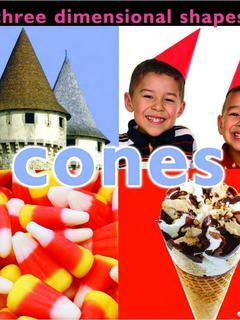 Three Dimensional Shapes: Cones