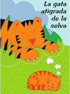 La gata atigrada de la selva