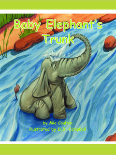 Baby Elephant's Trunk