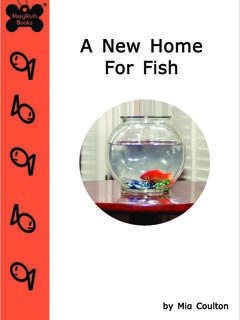A New Home for Fish