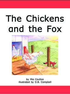 The Chickens and the Fox