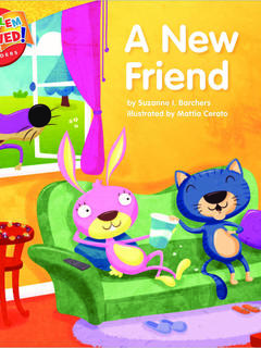 A New Friend: a lesson on friendship