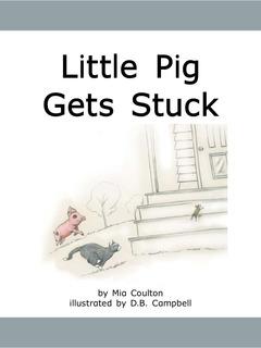 Little Pig Gets Stuck