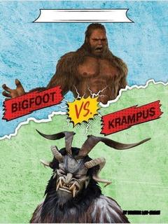 Bigfoot vs. Krampus