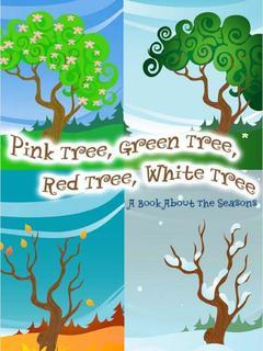Pink Tree, Green Tree, Red Tree, White Tree