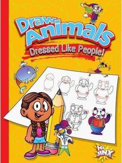 Draw Animals Dressed Like People!