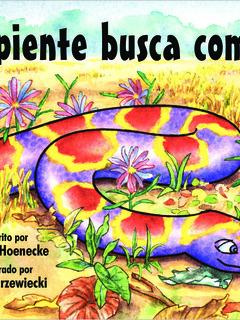 Serpiente busca comida