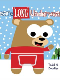 Bear in Long Underwear
