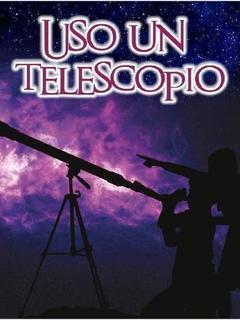 Uso un telescopio