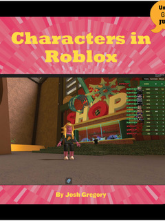 Characters in Roblox