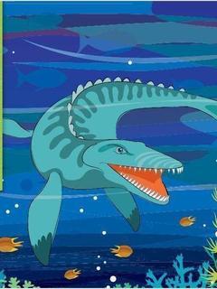 I'm a Mosasaurus