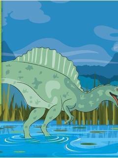 I'm a Spinosaurus
