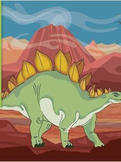 I'm a Stegosaurus