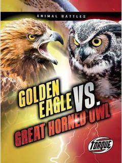 Golden Eagle vs. Great Horned Owl