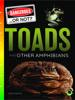 Toads and Other Amphibians