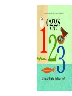 Eggs 1, 2, 3