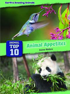 Animal Top 10: Animal Appetites