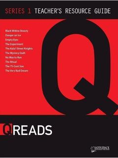 Q Reads Set 1 Teacher's Resource Guide