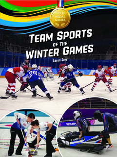 Team Sports of the Winter Games