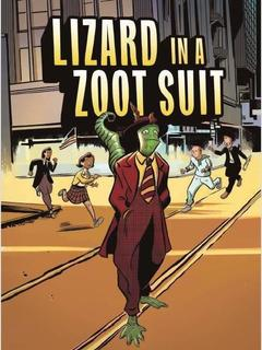 Lizard in a Zoot Suit