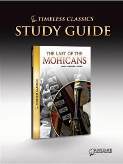 The Last of the Mohicans Study Guide