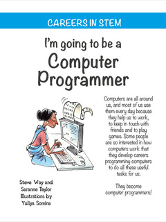 I'm going to be a Computer Programmer
