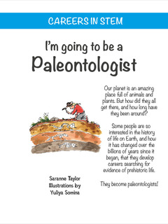 I'm going to be a Paleontologist