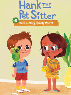 Book 6: Pete the Very Chatty Parrot