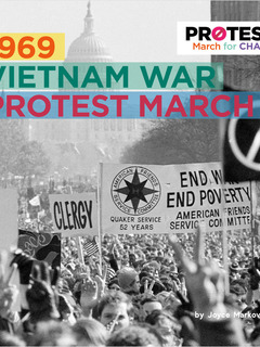 1969 Vietnam War Protest March