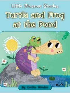 Turtle and Frog at the Pond