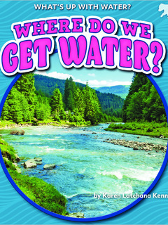 Where Do We Get Water?