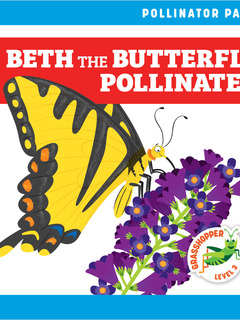 Beth the Butterfly Pollinates
