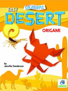 Easy Desert Origami